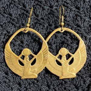 VINTAGE Deco Design Earrings